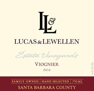 2016 Lucas & Lewellen Viognier