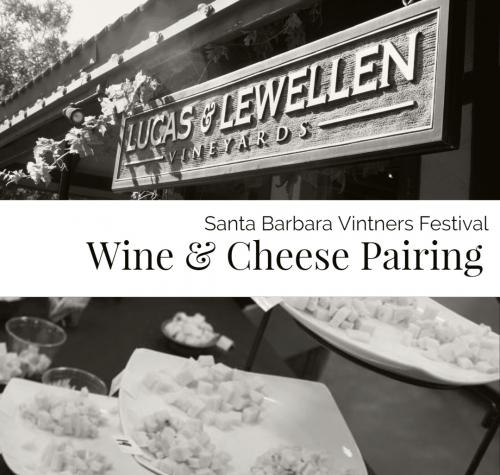Vintners Festival Wine + Cheese Pairing image
