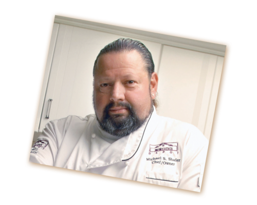 Chef Shafer of The Depot Restaurant