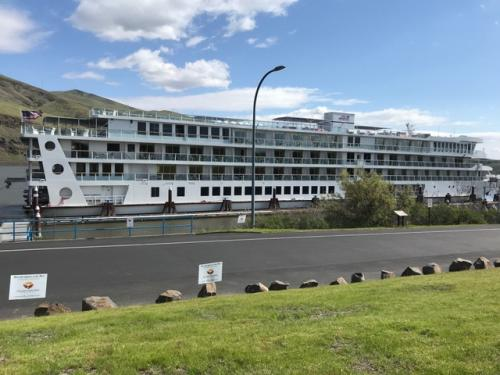 The America Cruise Lines Wine Cruise to the Pacific Northwest - a photo of the ship