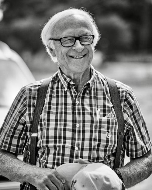 Photo of Louis Lucas smiling by Lance Batchelder