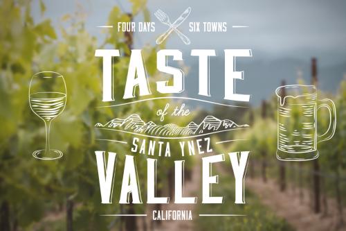 Taste of the Santa Ynez Valley poster