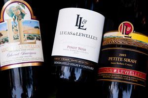 Vintage red wines