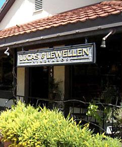 Lucas and Lewellen tasting room