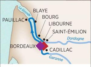 Image of Bordeaux cruise stops