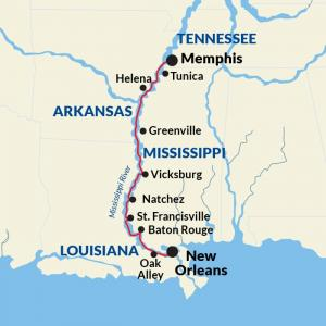 Memphis to New Orleans