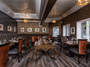 The beautiful dining room at First & Oak